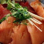 づけ丼(メバチマグロ+赤身)