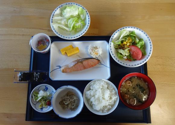 9月12日の朝食(和食)