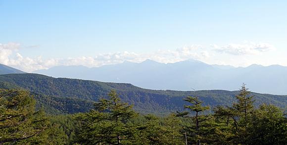 日向木場展望台からの景色