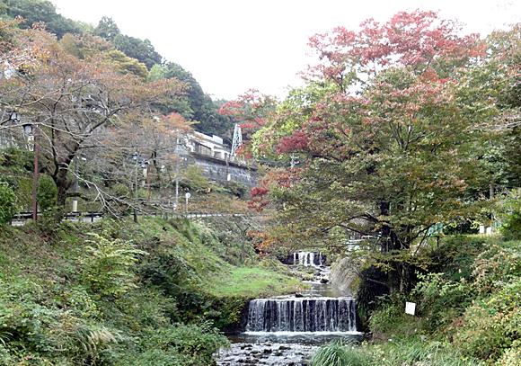 加寿美橋から見た鈴川