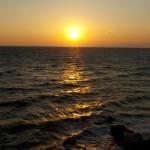 2014年最後の夕陽