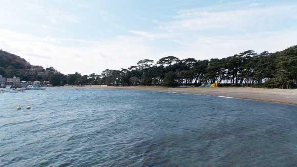 戸田港・御浜海水浴場