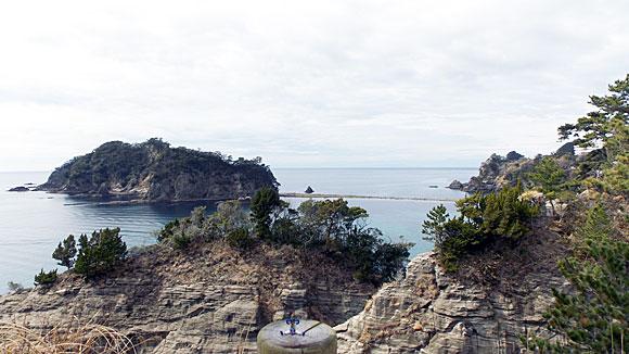 静岡県の伊豆半島・西伊豆の三四郎島へ旅行探検