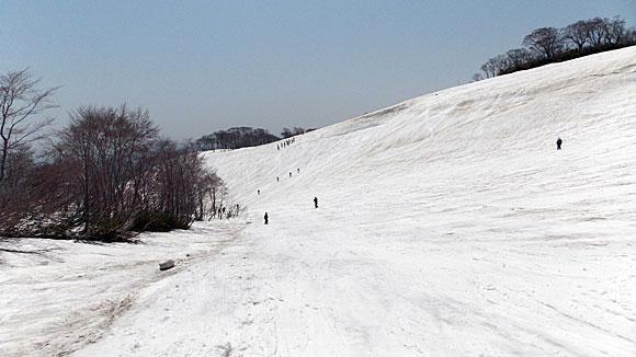 山形県・月山スキー場