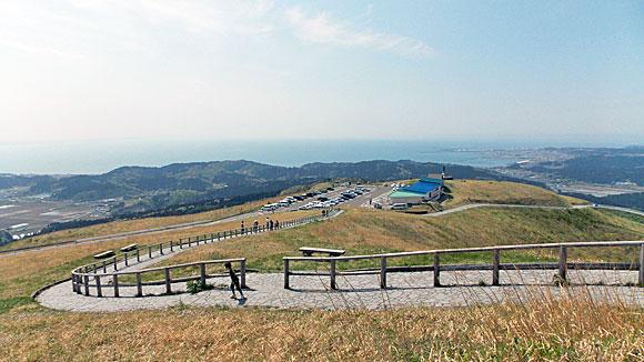 秋田県男鹿国定公園「寒風山」