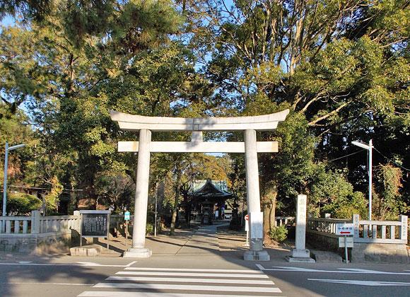 静岡県への日帰り旅行探検「御穂神社」