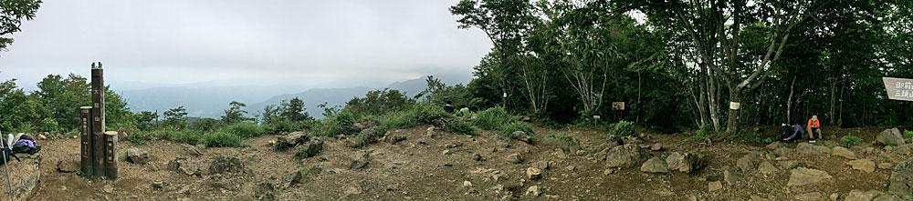 大岳山登山・大岳山山頂