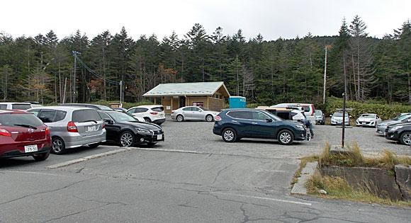 国道299号線(通称・メルヘン街道)沿いにある無料駐車場