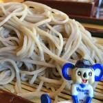 山梨県清里「そば処さと」で2つのそばつゆで食べ比べができる『さと味せいろ』を堪能!