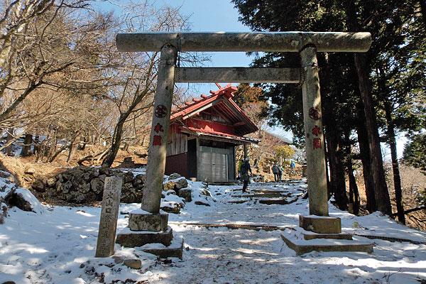 神奈川県伊勢原市・大山登山「2つ目の鳥居」