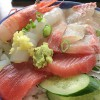 静岡県熱海市「初島」の磯料理・鈴木丸で海鮮丼を堪能