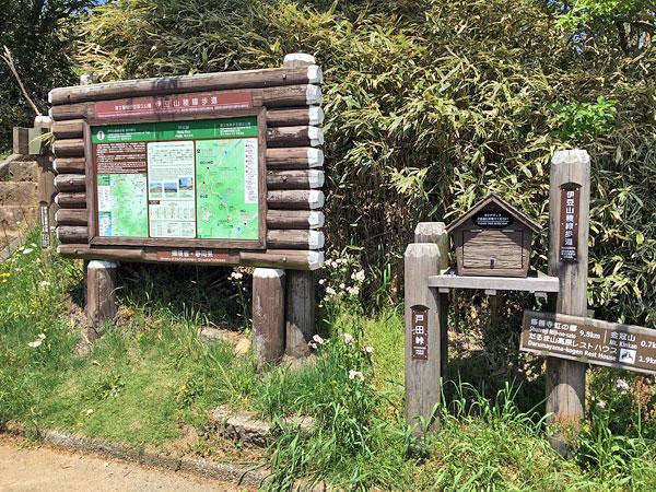 戸田峠に到着