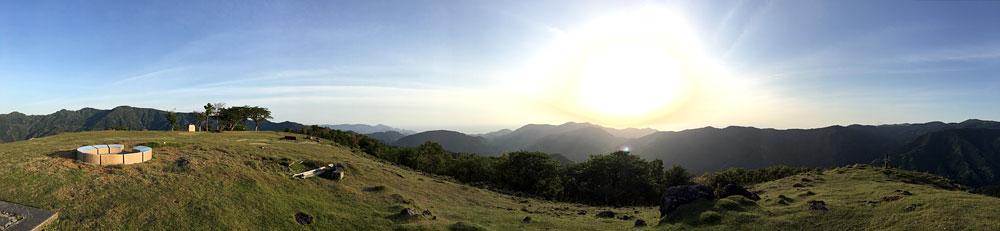 静岡県西伊豆・丹野平山頂(パノラマ)