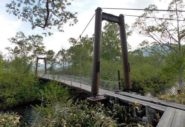 尾瀬ヶ原・ヨッピ橋