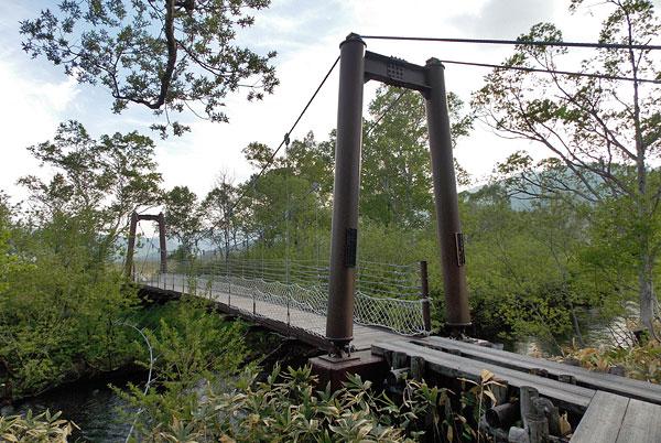 尾瀬国立公園「ヨッピ吊り橋」