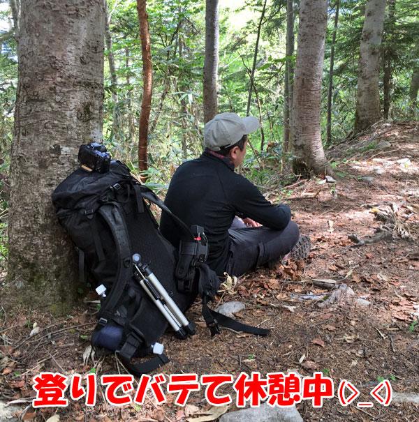 尾瀬登山・竜宮から富士見峠へ向かう