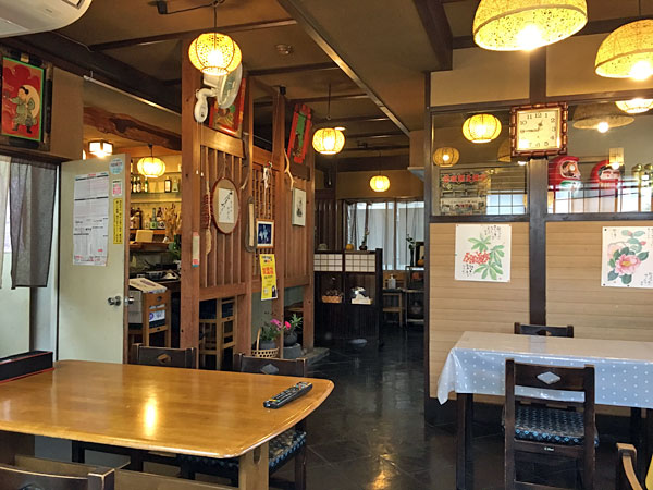 佐久の三河屋食堂