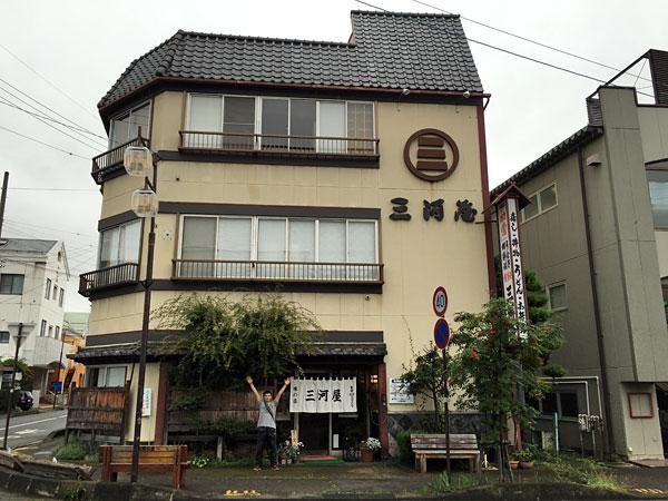 長野県・佐久の三河屋食堂にて鯉料理の甘煮、鯉こく、あらいを堪能!