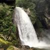 尾白川渓谷の不動滝は迫力満点でした!