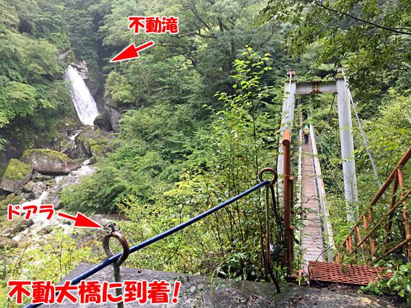 尾白川渓谷・不動大橋