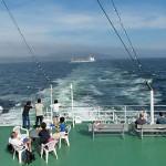 東京湾フェリー「しらはま丸」に乗船!金谷から久里浜へ