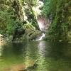川遊びができる尾白川渓谷の千ヶ淵に行ってきました。