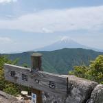 山梨県の釈迦ヶ岳に日帰り登山に行ってきました!
