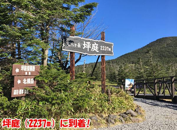 北八ヶ岳・坪庭(標高2237m)