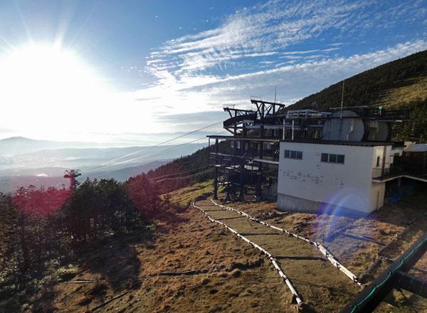 北八ヶ岳ロープウェー山頂駅・展望台からの風景