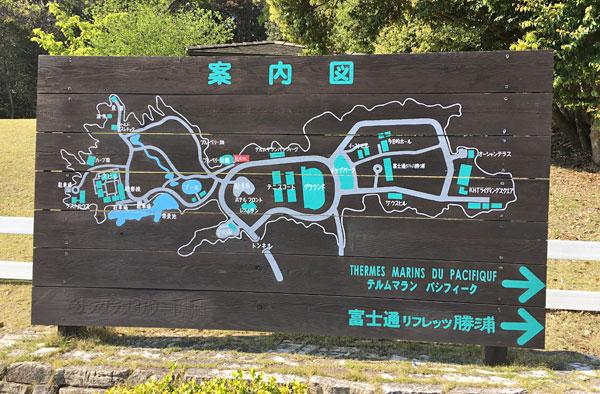 ブルーベリーヒル勝浦・敷地案内図