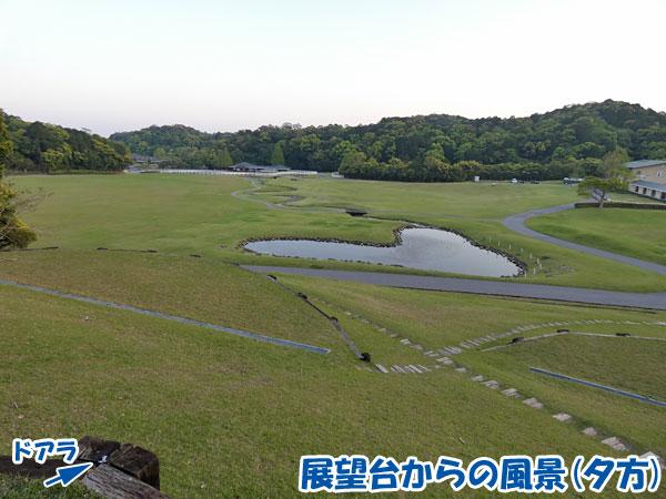ブルーベリーヒル勝浦・展望台からの風景