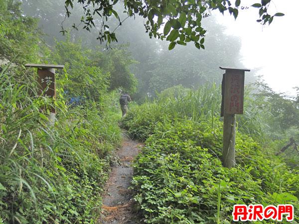 丹沢登山:丹沢の門
