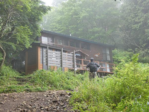 丹沢登山:見晴茶屋に到着