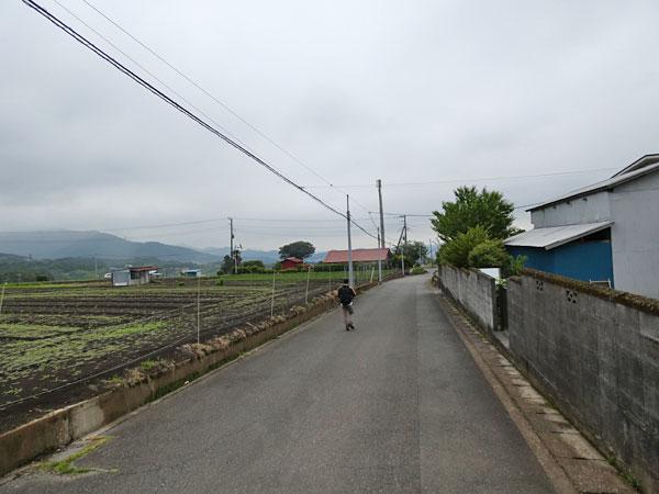 丹沢登山:大倉から大倉バス停へ向かう