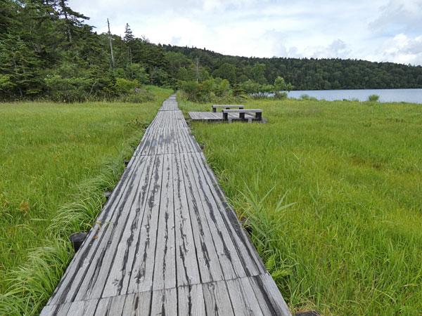 尾瀬沼と燧ケ岳のビューポイントが見えてきた!