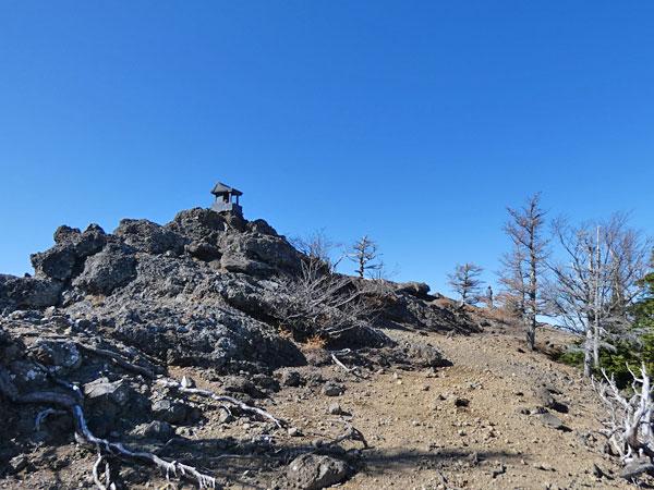 トキンの岩(兜巾の岩)にて北アルプスを眺望してきた!