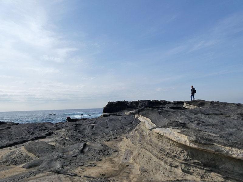 城ヶ島南部の磯場