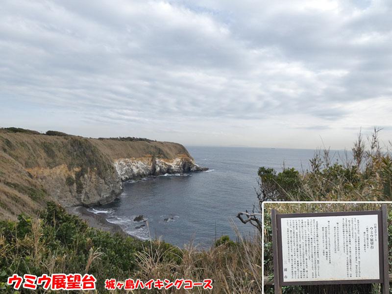 ウミウ展望台・城ヶ島ハイキングコース