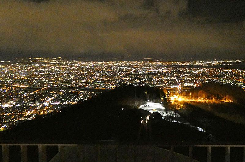 日本新三大夜景「札幌」の夜景