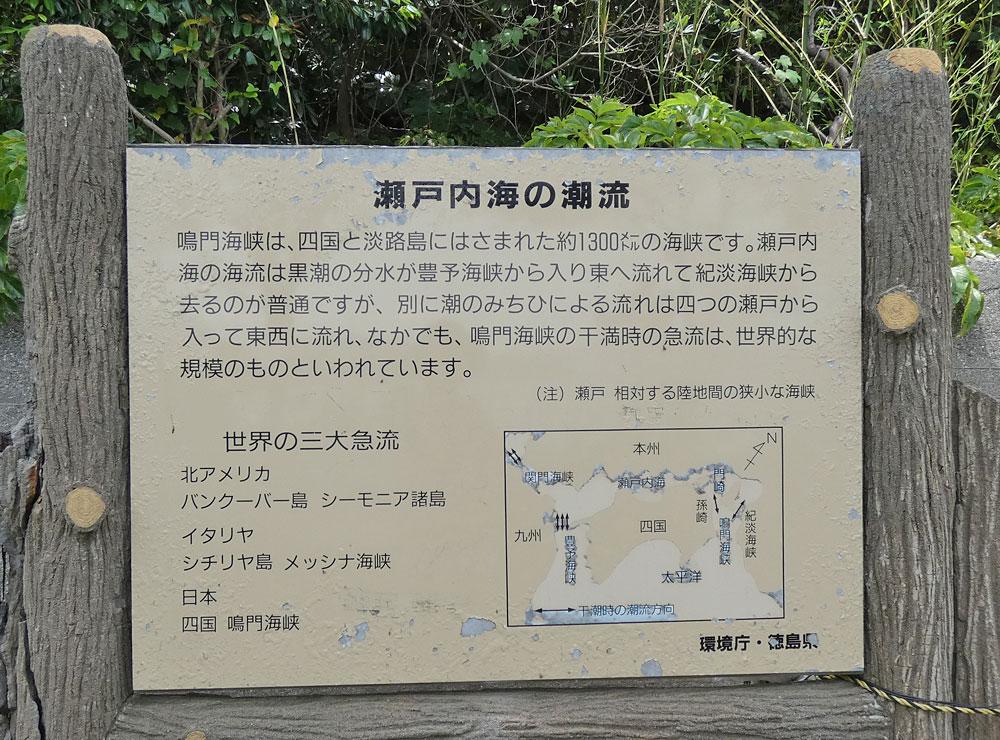 鳴門海峡は世界三大急流のひとつ