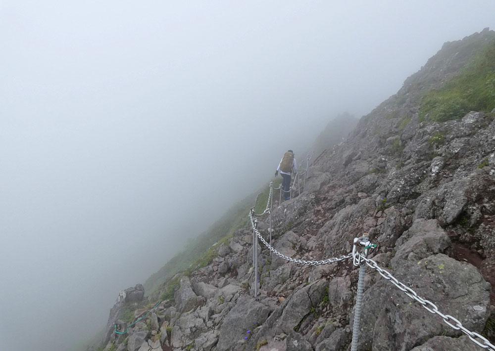 三叉峰から赤岳を目指す!