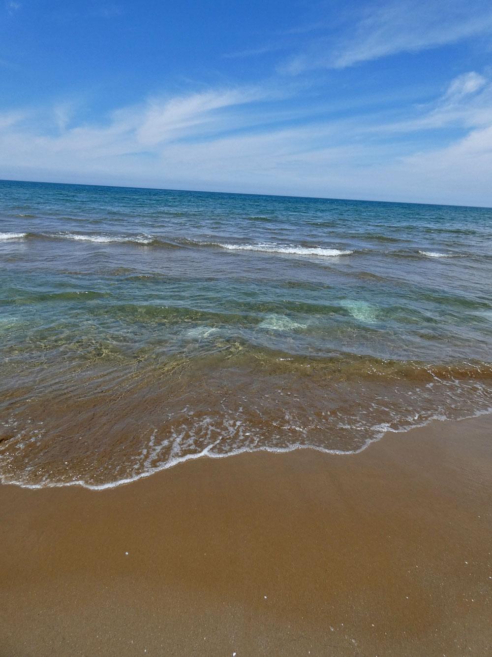日本の渚100選・千里浜なぎさドライブウェイ