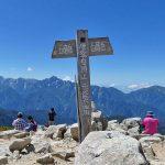 唐松岳に黒菱駐車場からリフトに乗って日帰り登山に行ってきました!